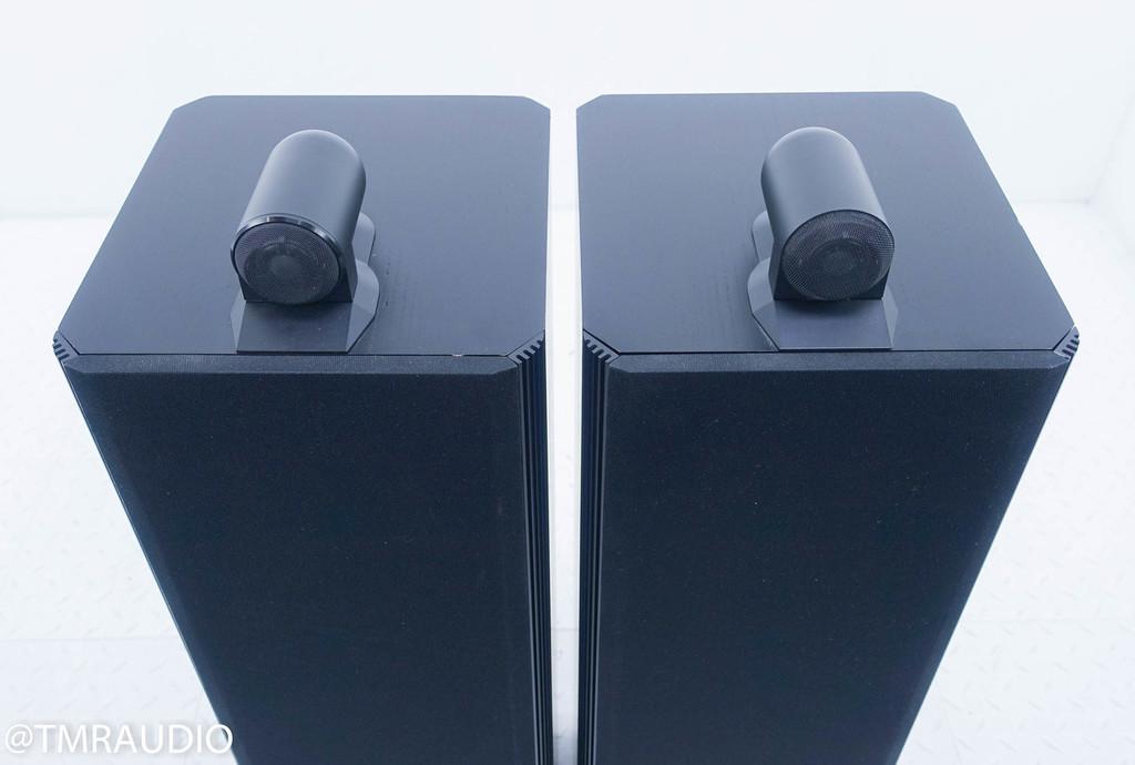 B&W 804 Matrix Series 1 Floorstanding Speakers; Black Ash Pair
