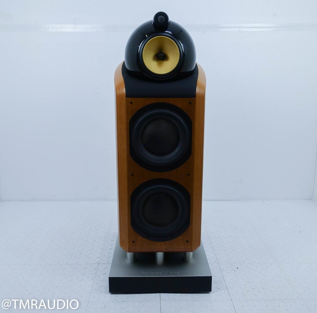 B&W 800D Floorstanding Speaker; Single; Rosenut
