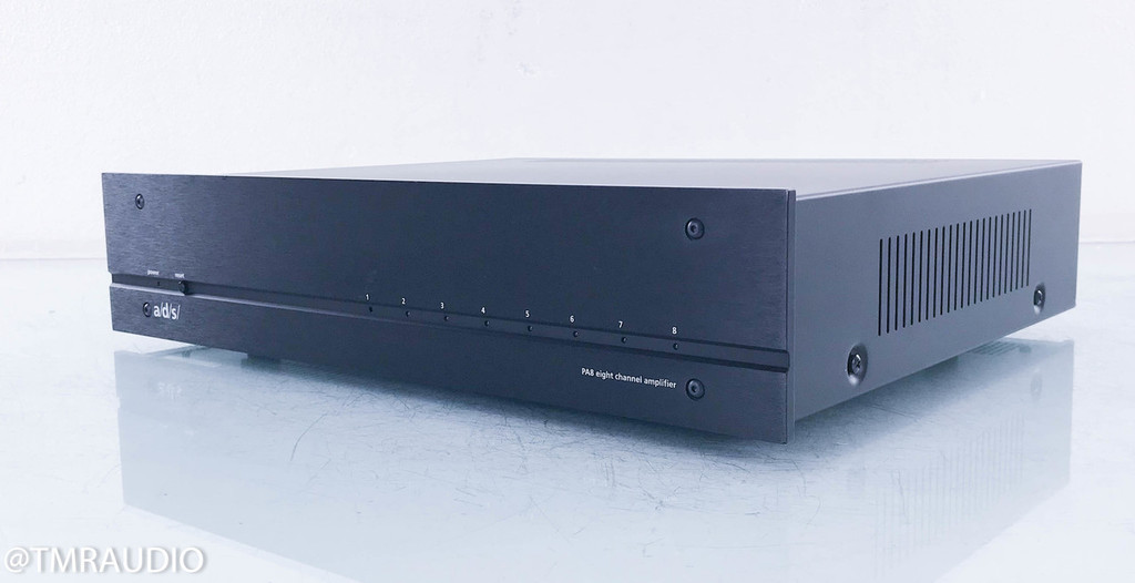 A/D/S PA8 8-Channel Power Amplifier; ADS PA-8