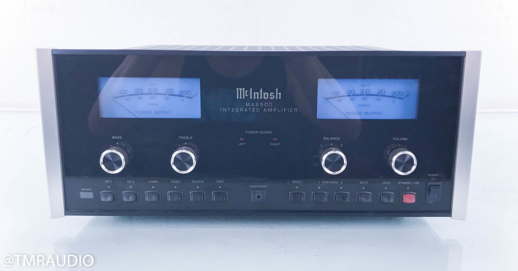 McIntosh MA6500 Stereo Integrated Amplifier; MA-6500 (No Remote)