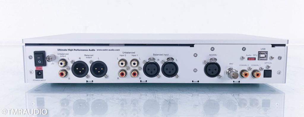 SOtM sDP-1000EX DSD DAC; D/A Converter; Preamplifier