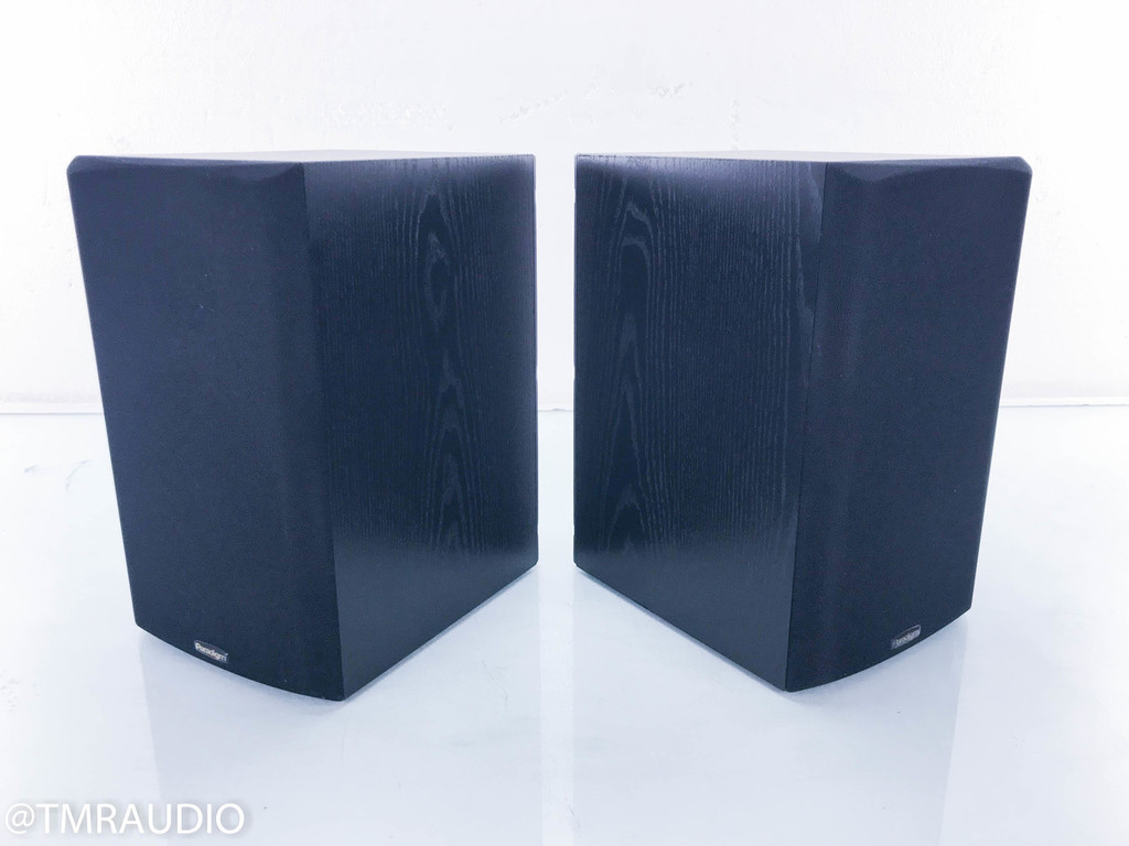 Paradigm Titan V2 Bookshelf Speakers; Black Ash Pair