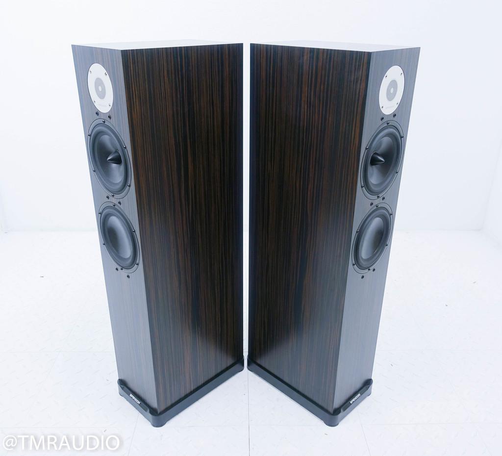 Spendor D7 Floorstanding Speakers; Ebony Pair (2 Months Old)