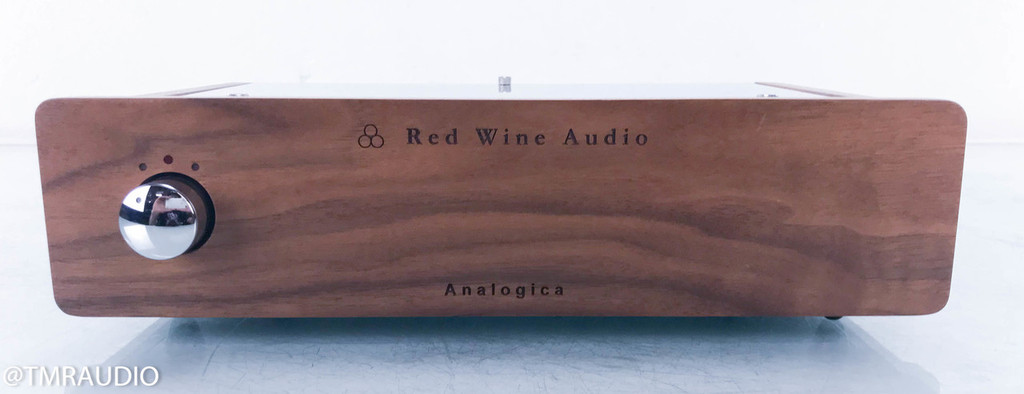 Red Wine Audio Analogica Renaissance Edition Phono Preamplifier; MM / MC; Walnut