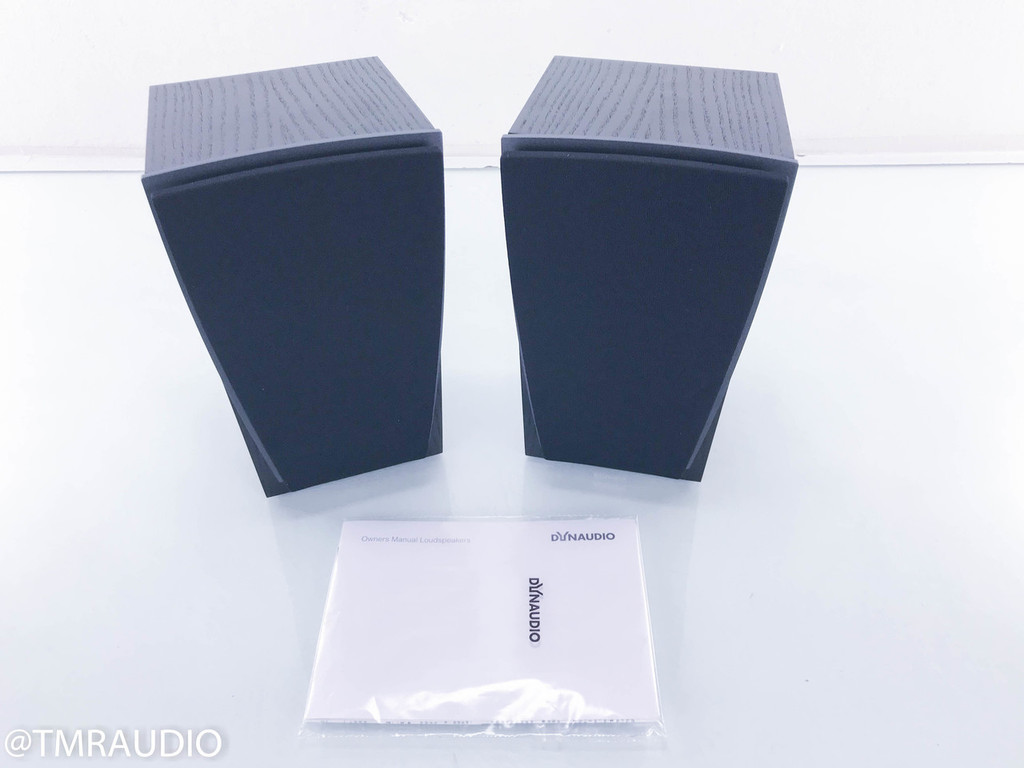 Dynaudio Contour S R On Wall Speakers; Black Ash Pair
