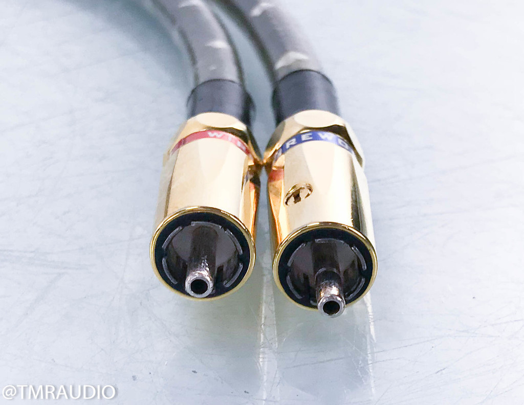 Wireworld Eclipse 5.2 RCA Cables; 1m Pair Interconnects; Squared (2/2)