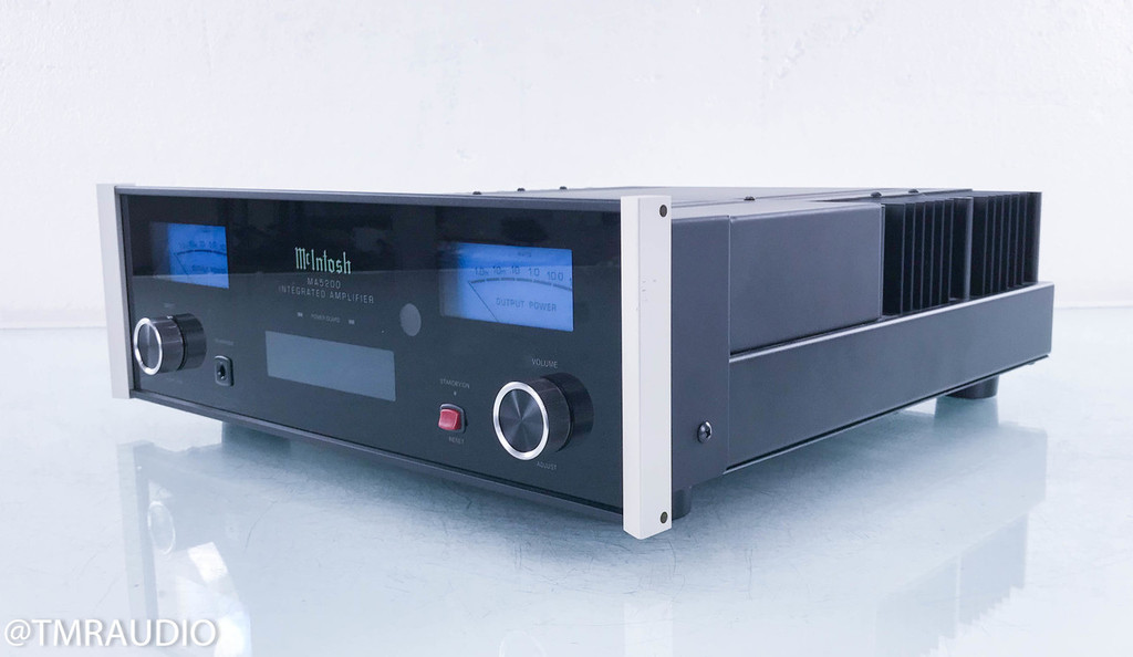 McIntosh MA5200 Stereo Integrated Amplifier; MA-5200