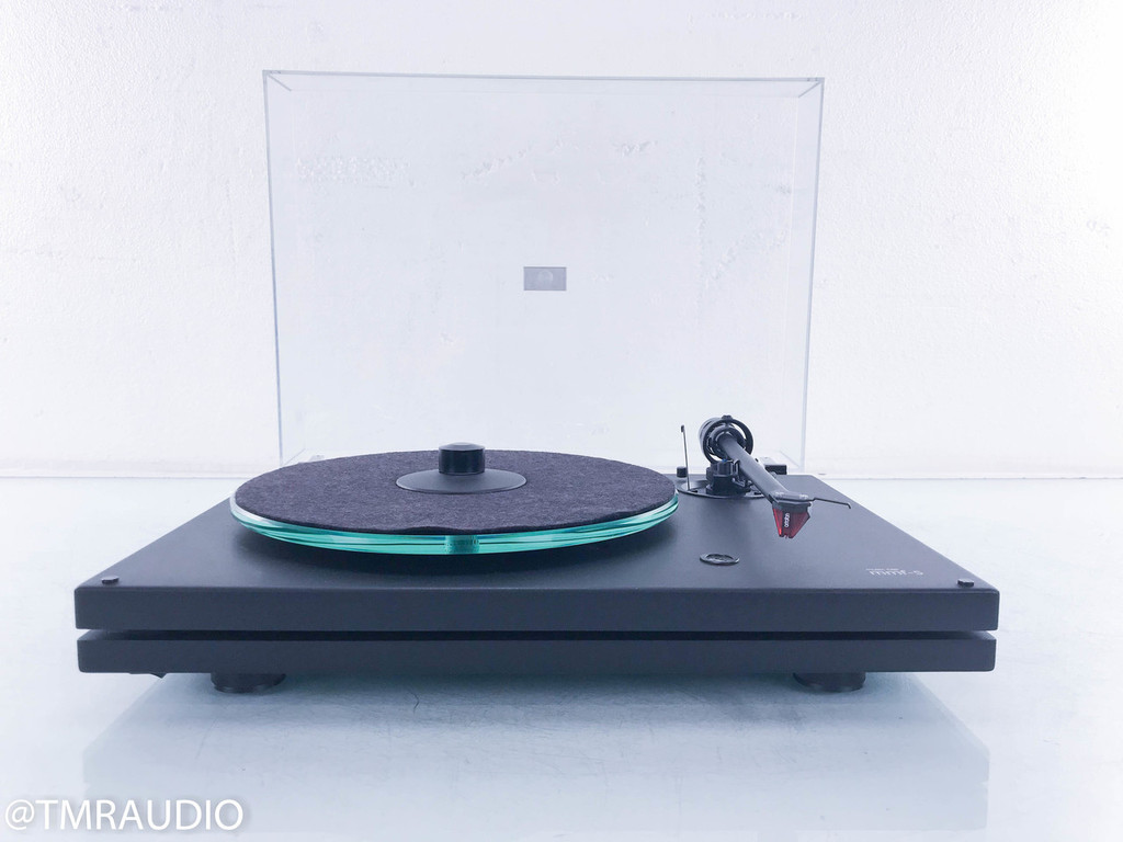 Music Hall MMF-5 Turntable; Ortofon 2M Red Cartridge