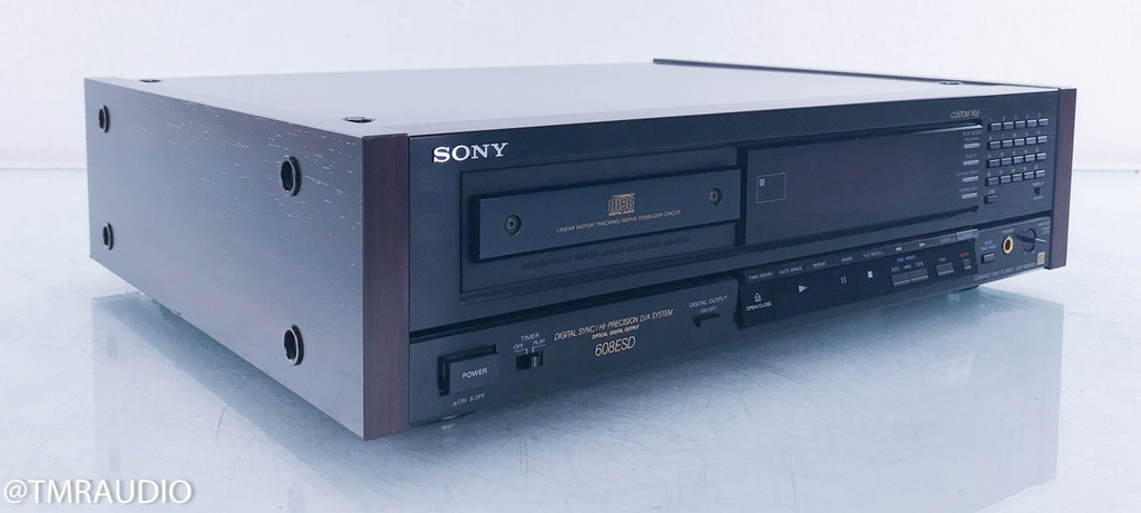Sony CDP-608ESD CD Player; CDP608ESD