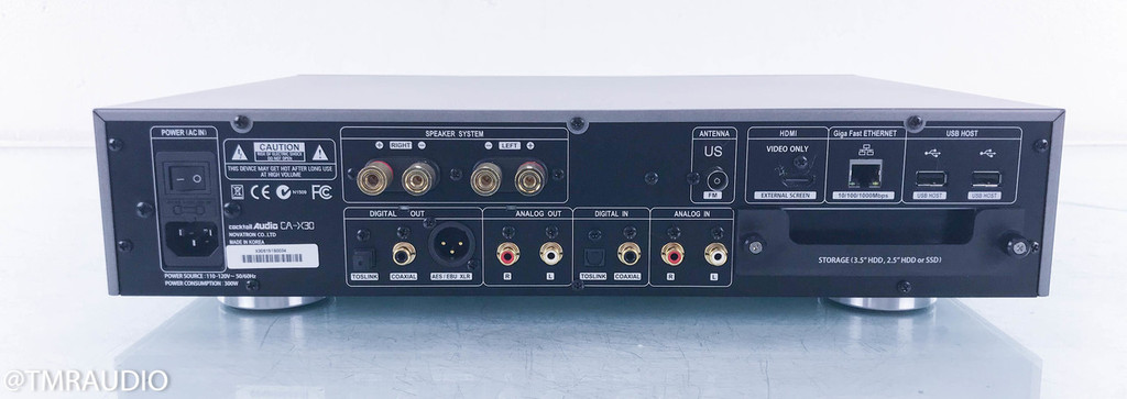 Cocktail Audio X-30 Integrated Amplifier; CD Player; Network Streamer; Server; CA-X30