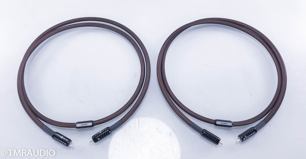 WireWorld Eclipse 7 RCA Cables; 1.5m Pair Interconnects