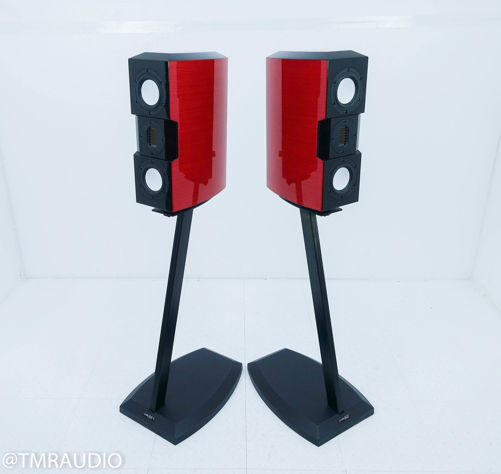 Evolution Acoustics Micro One Bookshelf Speakers; Pair w/ Stands; MMMicroOne