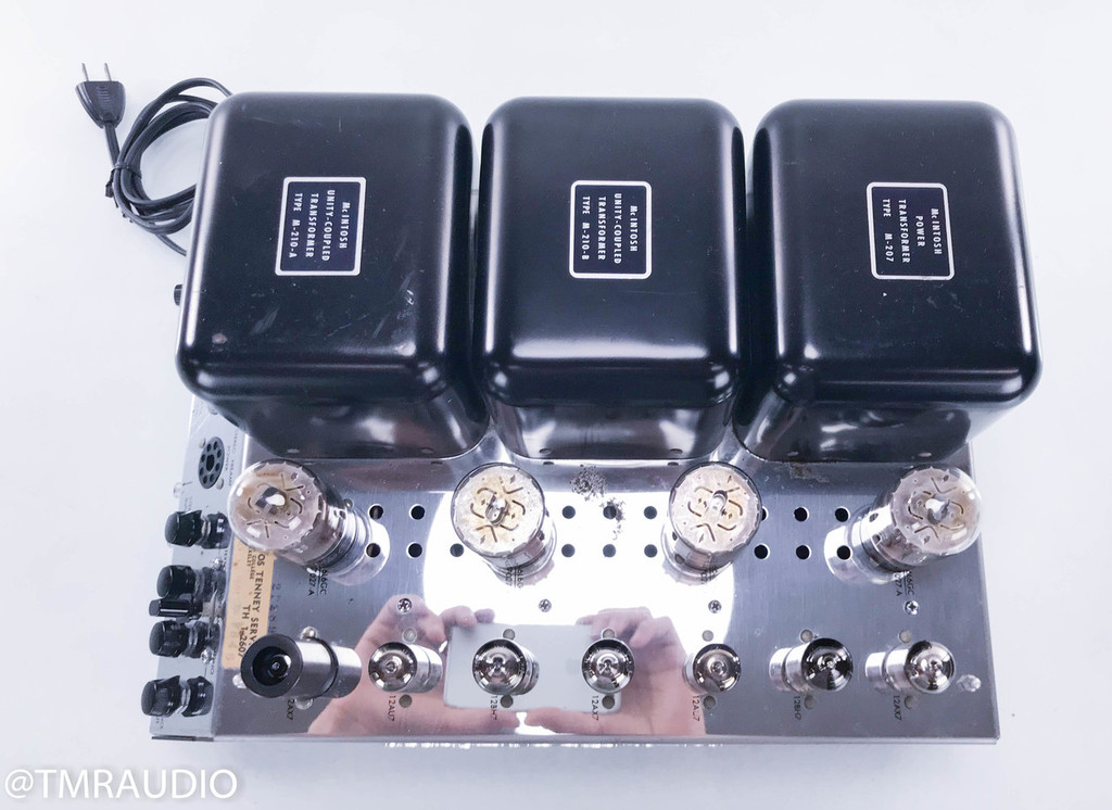 McIntosh MC240 Vintage Stereo Tube Power Amplifier; MC-240