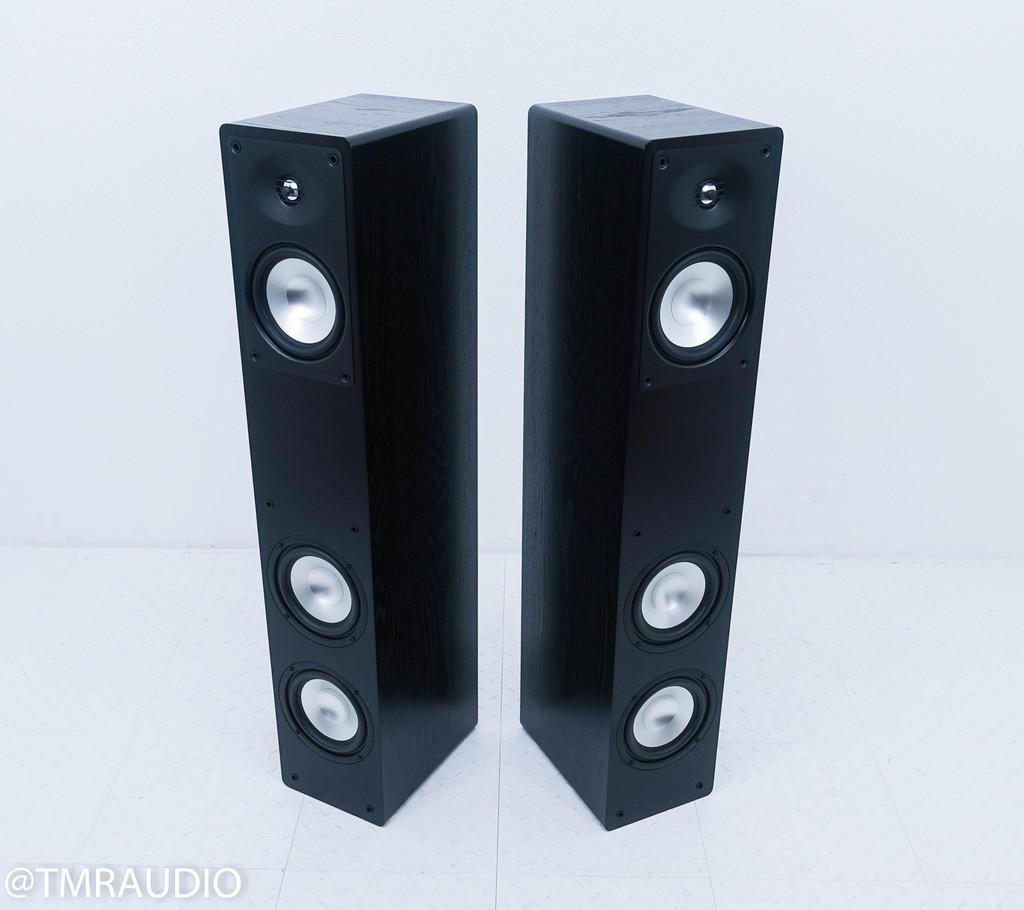 RBH MC-6CT Floorstanding Speakers; MC6-CT; Black Pair (New old stock)