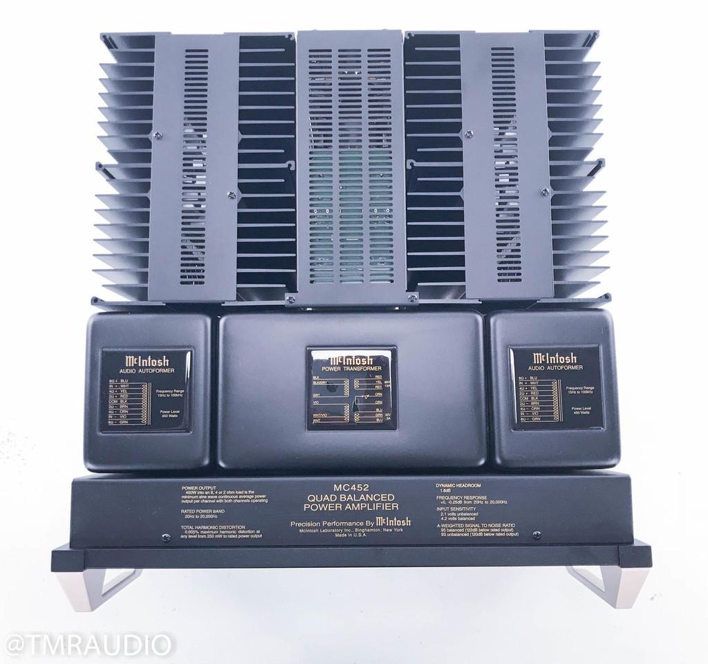 McIntosh MC452 Quad Balanced Stereo Power Amplifier; MC-425