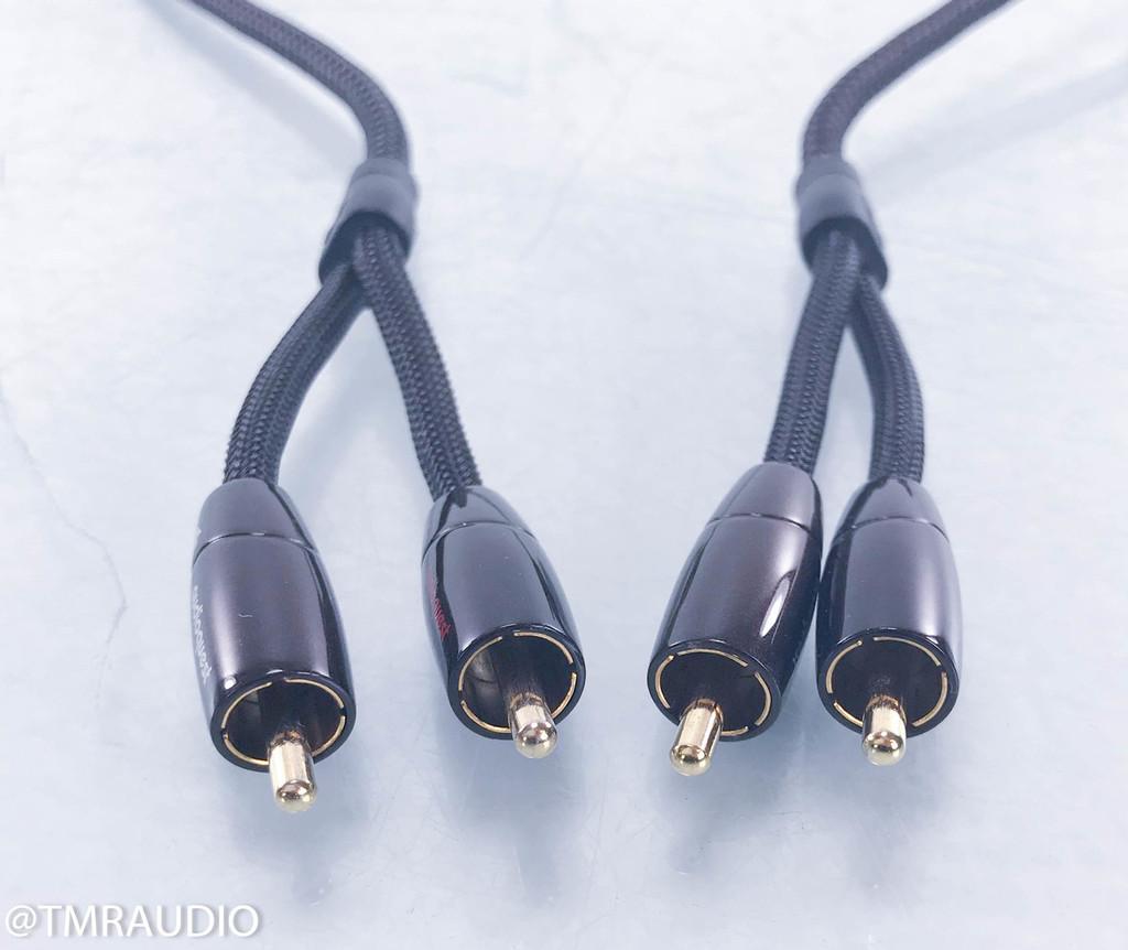AudioQuest Big Sur RCA Cables; 1m Pair Interconnects