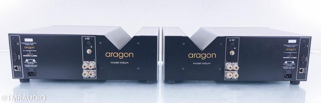 Aragon Iridium Mono Power Amplifier; Silver Pair