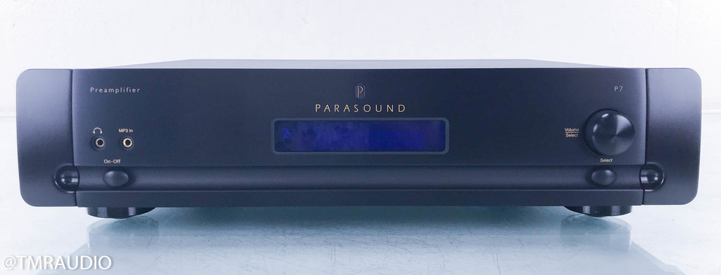 Parasound Halo P7 7.1 Channel Preamplifier; P-7; Remote (2/2)