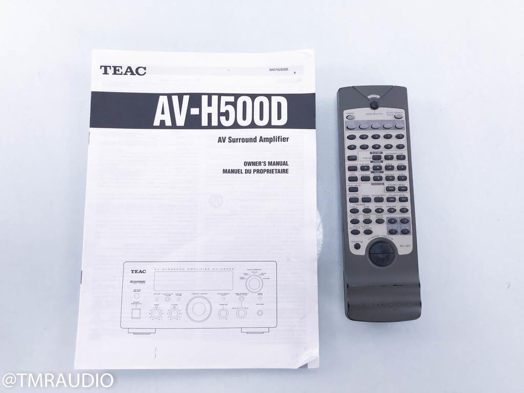 TEAC AV-H500D 5.1 Channel Integrated Amplifier