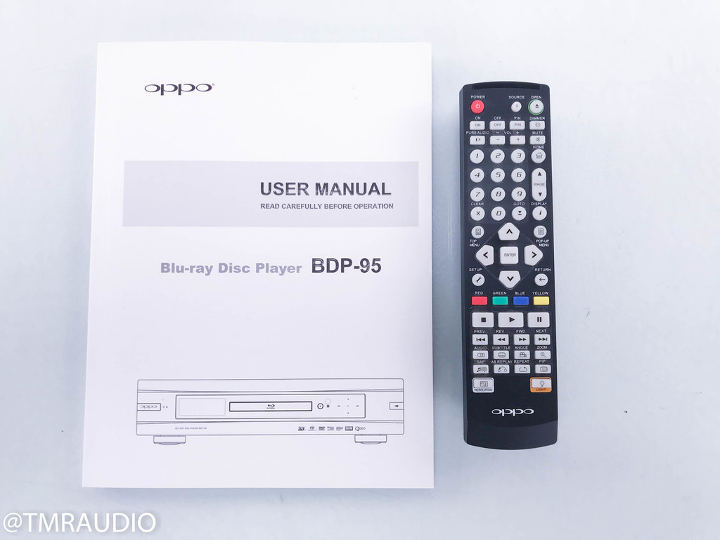 Oppo BDP-95 Universal Blu-Ray Player; 3D