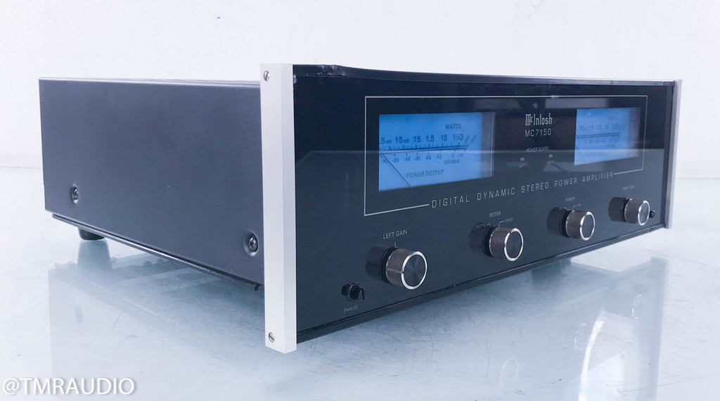McIntosh MC7150 Stereo Power Amplifier; MC-7150
