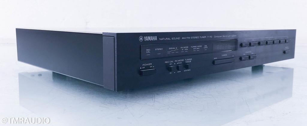 Yamaha T-70 Digital AM / FM Tuner; T70