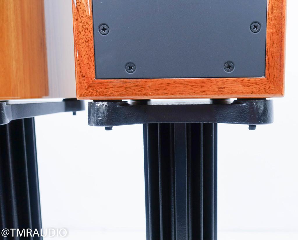 AE AE-1 Signature Bookshelf Speakers; Santos Rosewood Pair w/ Stands