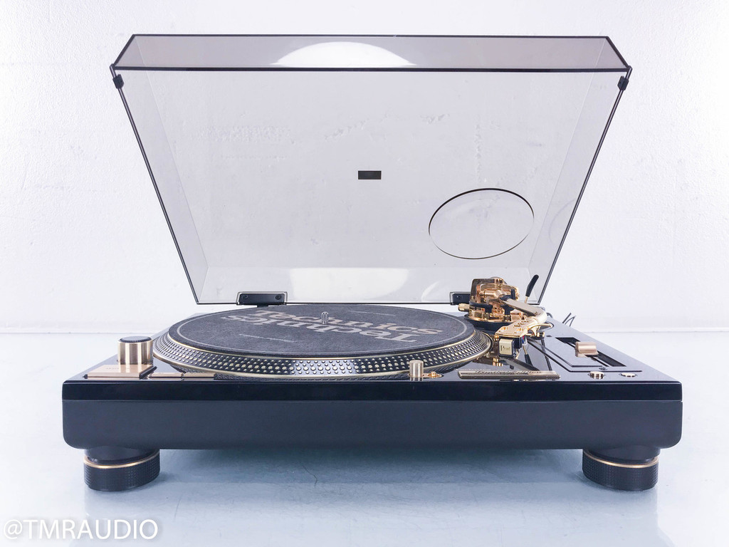 Technics SL-1200GLD Limited Edition Turntable; Sumiko Pearl Cartridge