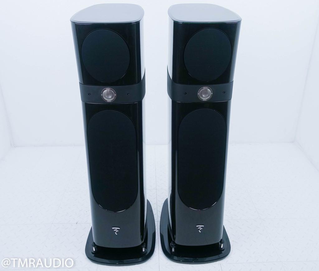 Focal Sopra No. 2 Floorstanding Speakers; Black Lacquer Pair