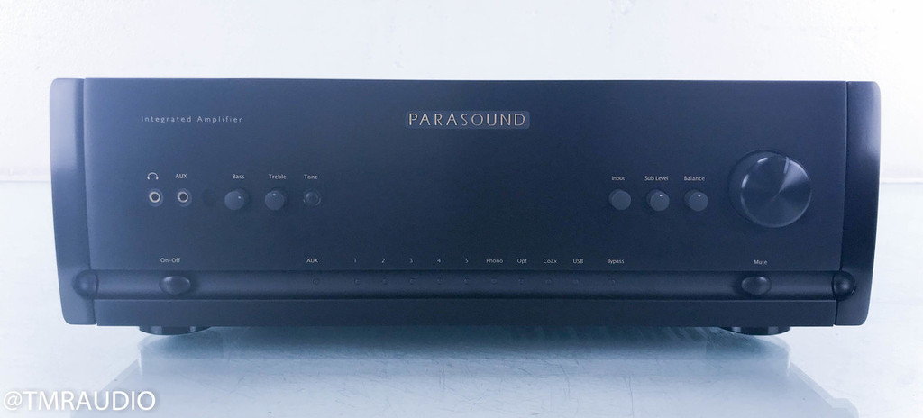 Parasound Halo Stereo Integrated Amplifier; Black; Remote