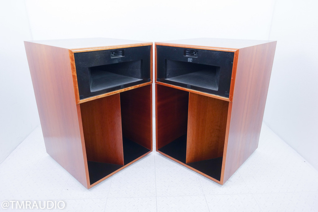 Klipsch La Scala Vintage Speakers; Pair; Re-finished Cabinets; Updated Crossover