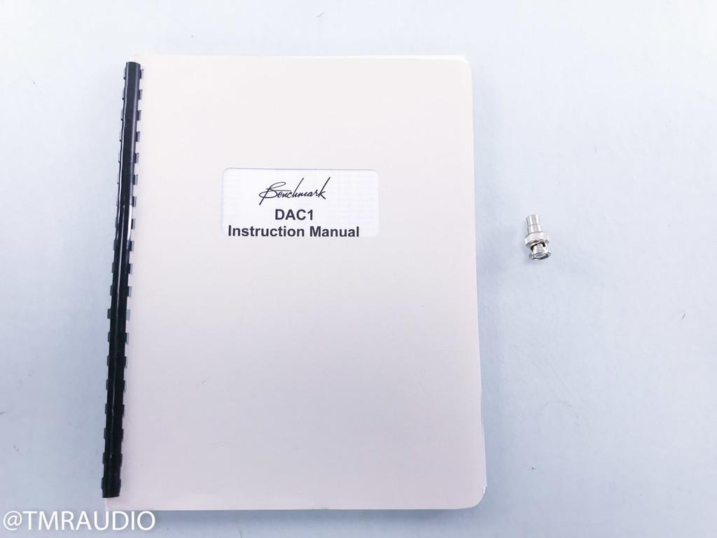 Benchmark Media DAC1 DAC / Headphone Amplifier; D/A Converter; DAC-1