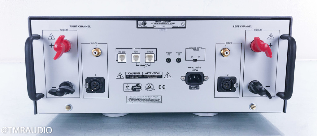 Mark Levinson No. 432 Dual Mono Power Amplifier