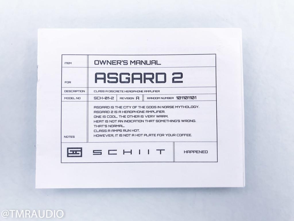 Schiit Asgard 2 Headphone Amplifier