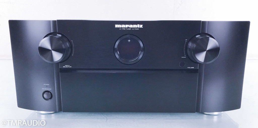 Marantz AV7005 7.2 Channel Home Theater Processor; Remote; MM Phono