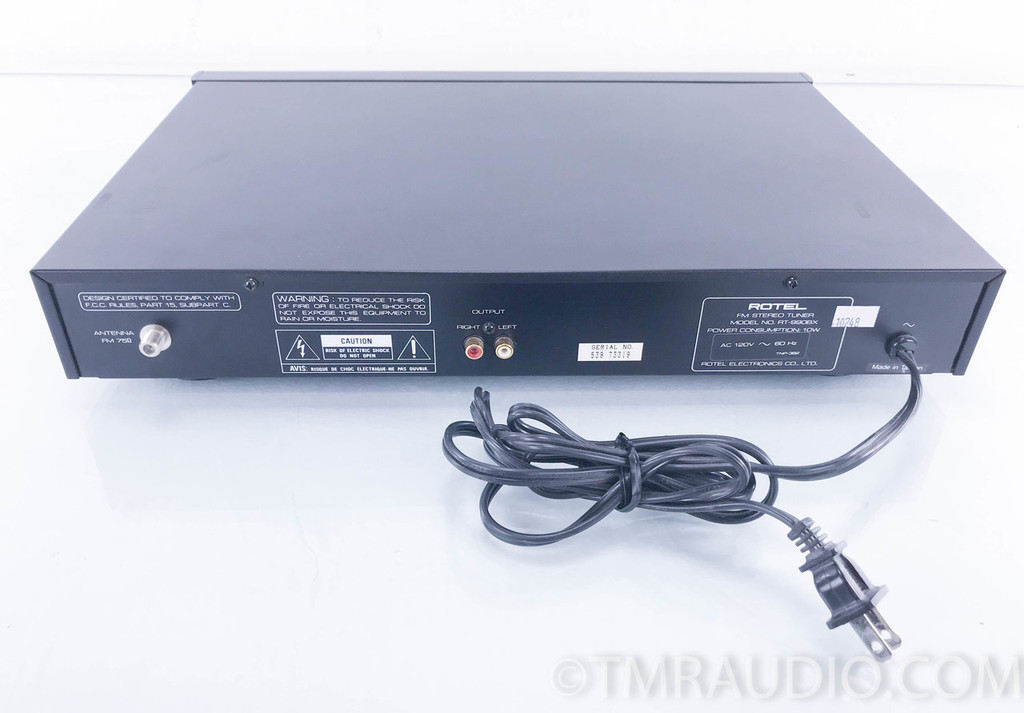 Rotel RT-990BX FM Stereo Tuner; RT990BX (No Remote)