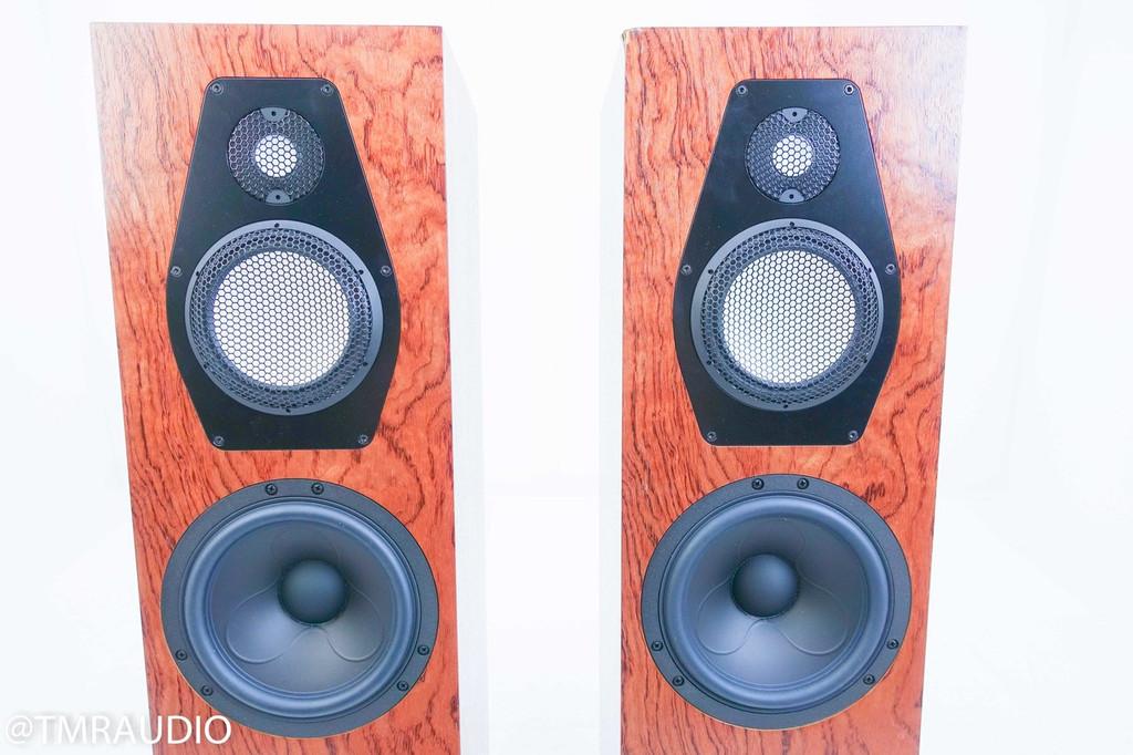 Clearwave Symphonia 1 Floorstanding Speakers; Walnut Burl Pair