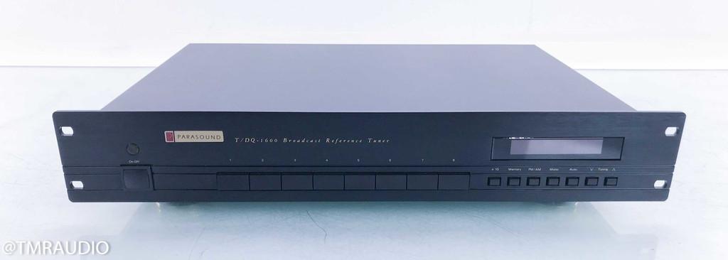 Parasound T/DQ-1600 AM / FM Tuner; TDQ1600 (No Remote)