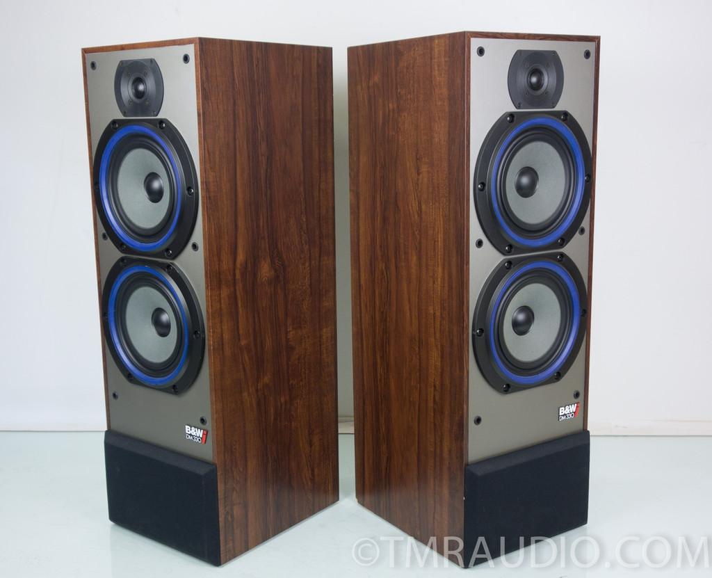 b w dm330 speakers bowers wilkins dm 330 excellent. Black Bedroom Furniture Sets. Home Design Ideas