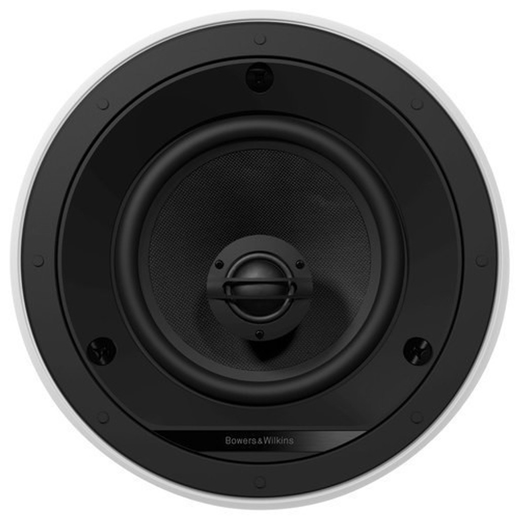 B&W CCM665 2-Way Ceiling Mount Speakers; Pair White; Bowers & Wilkins (New)