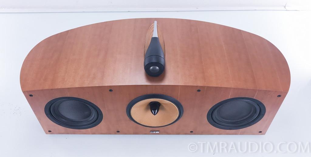 B&W HTM1 Nautilus Center Channel Speaker; Cherry; Bowers & Wilkins HTM-1