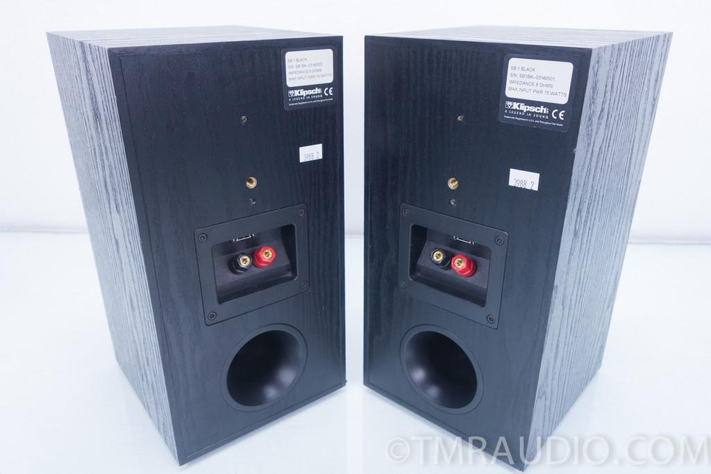 klipsch sb  bookshelf speakers excellent pair sb   room