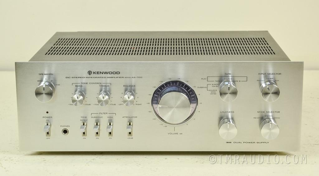 Kenwood Ka 7100 Vintage Stereo Integrated Amplifier The