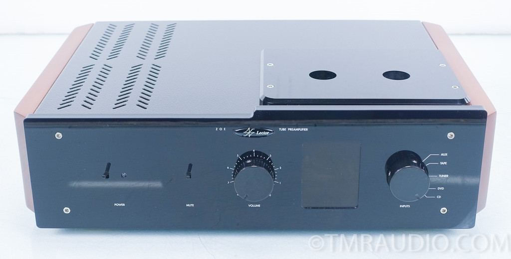 Lector Zoe Tube Preamplifier In Factory Box The Music Room