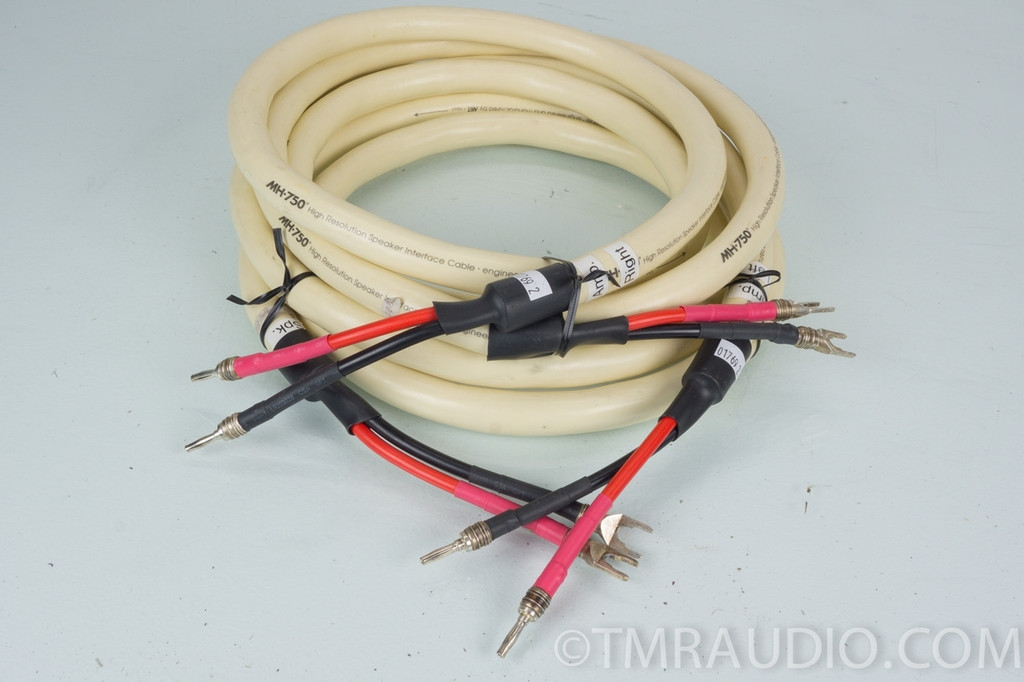 mit mh 750 speaker cables 8 foot pair the music room. Black Bedroom Furniture Sets. Home Design Ideas