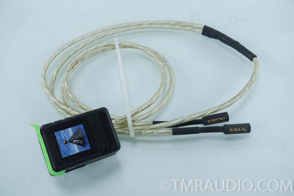 One Pair Of Synergistic Research Alpha Sterling Rca Cables