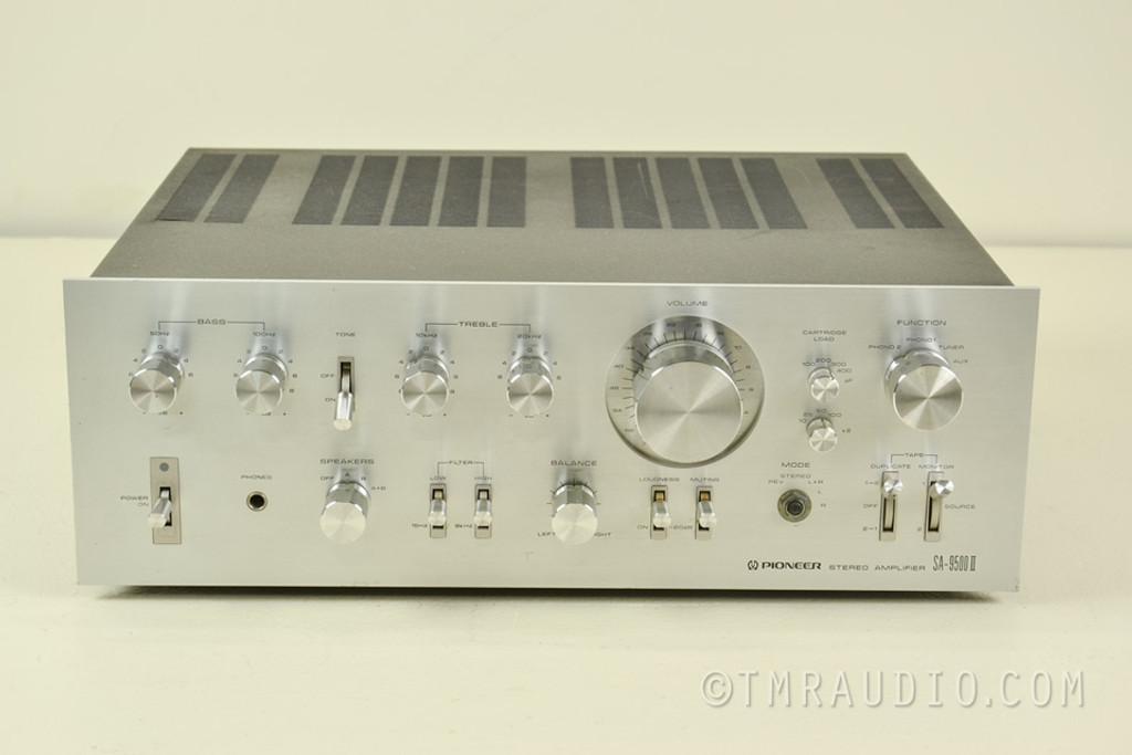 Pioneer Sa 9500 Ii Vintage Integrated Amplifier The
