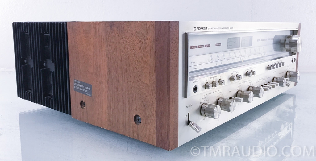 Pioneer Model SX-1250 Vintage Stereo Reciever; Just Serviced