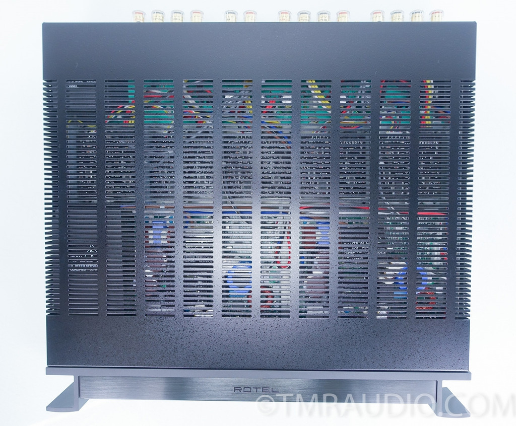 rotel rmb 1077 7 channel power amplifier in factory box the music room. Black Bedroom Furniture Sets. Home Design Ideas