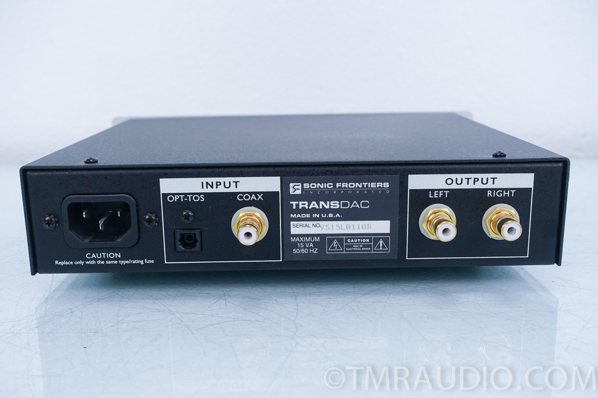 Sonic Frontiers Transdac Dac D A Converter In Factory Box